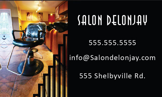 salon-bsiness-card